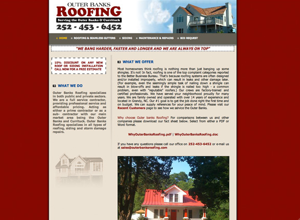 Outer Banks Roofing