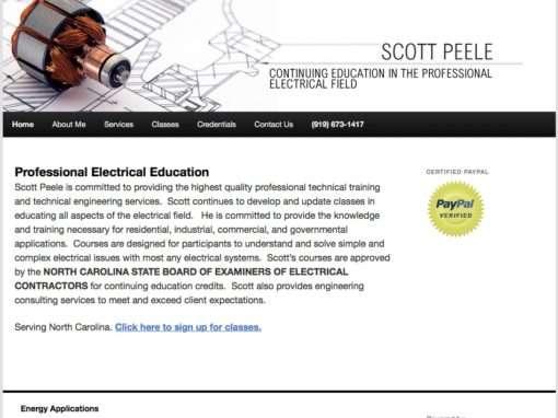 Scott Peele Engineering Program